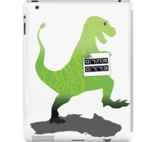 Digital Literacy -Walking with dinasaurs  iPad Case/Skin