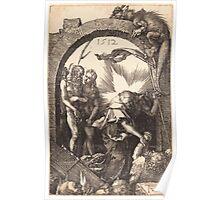 Albrecht Dürer or Durer Christ in Limbo Poster