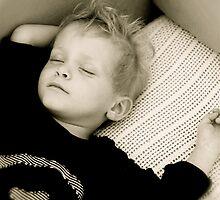 Jules asleep by Sonia de Macedo-Stewart