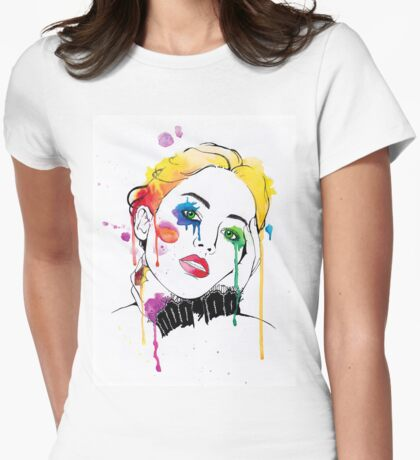 Contemporary Girl - Jennifer Womens Fitted T-Shirt