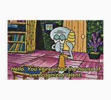 Squidward Tentacles, Unrecognized Talent by TellAVision