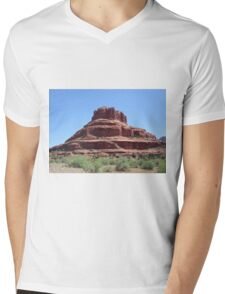 red rock mesa Mens V-Neck T-Shirt