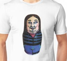 Self-Portrait of the Artist as a Matryoshka Doll Unisex T-Shirt