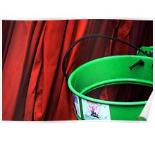 The Red Curtain and the lost green Poster