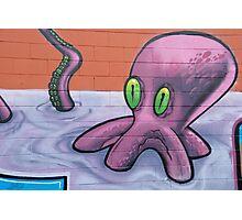 Graffiti Octopus Photographic Print