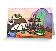 Chompy High Tea Greeting Card