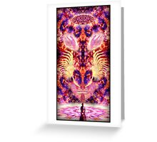 Ayahuasca Shaman Greeting Card