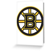 Bruins Greeting Card