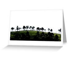 Hilltop on Menangle Road, NSW. Greeting Card
