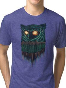 owl forest Tri-blend T-Shirt