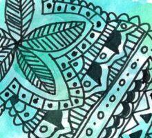 Watercolor Mandala Sticker