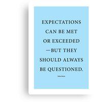 Tobias Sloane Quote Series 4 Canvas Print