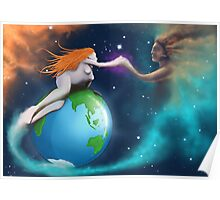 Mother Earth Father Sky Poster