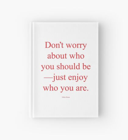 Tobias Sloane Quote Series 3 Hardcover Journal