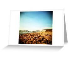 holga compton bay Greeting Card