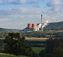 Ironbridge Power Station by John Hallett