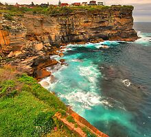 'Sheer Clifftop Perch' by Gavin J Hawley