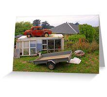 Kiwi Garage? Greeting Card
