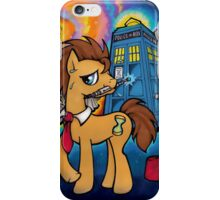 Doctor Whooves - Galaxy iPhone Case/Skin