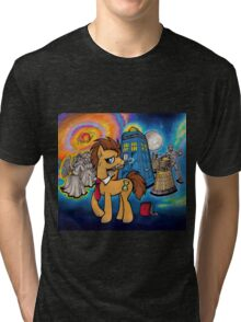 Doctor Whooves - Galaxy Tri-blend T-Shirt