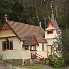 St. Raphael's All Saints Fern Tree Tasmania 1892 by PaulWJewell