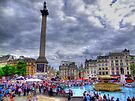 Trafalgar Square - London - HDR by Colin J Williams Photography