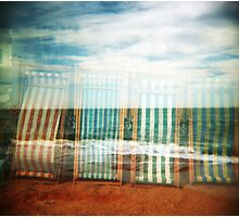 I do like to be beside the holga seaside Photographic Print