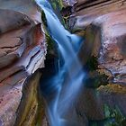 &quot;Hammersley Gorge Waterfall&quot; Karijini National Park, Western Australia by wildimagenation
