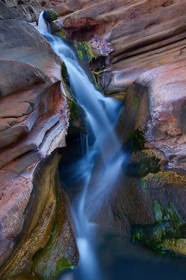 Karijini Australia  city pictures gallery : Hammersley Gorge Waterfall