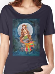 Mermaid by Moonlight Women's Relaxed Fit T-Shirt