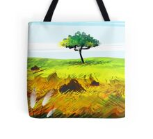 Rural scene with nature's beauty Tote Bag