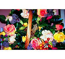 Flowers and beauty Photographic Print