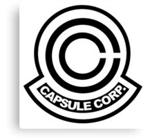capsule corporation logo Canvas Print