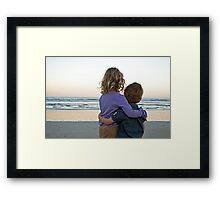 """I will always be there for you..."" Framed Print"