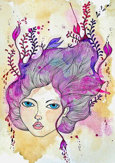Spring Lover Art by D.U.R.A .