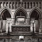 Apse - Christ Church Cathedral - Newcastle by Jeff Catford