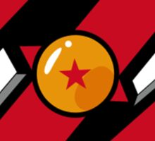 dbz logo Sticker