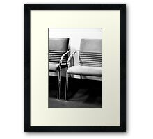 Waiting ... Framed Print