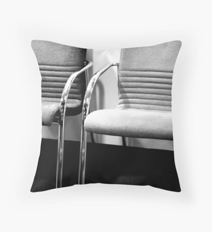 Waiting ... Throw Pillow