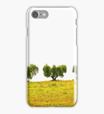three trees iPhone Case/Skin