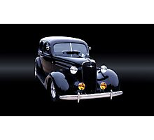 1937 Chevy Master Sedan Photographic Print