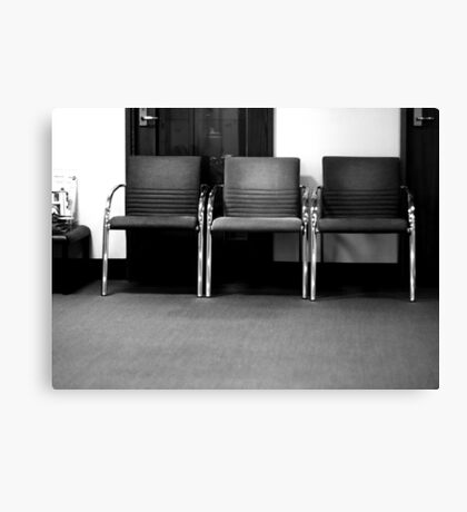 And waiting ... Canvas Print