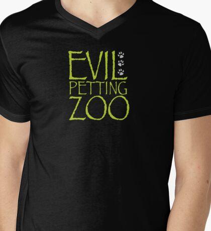 Austin Powers - Evil Petting Zoo Mens V-Neck T-Shirt