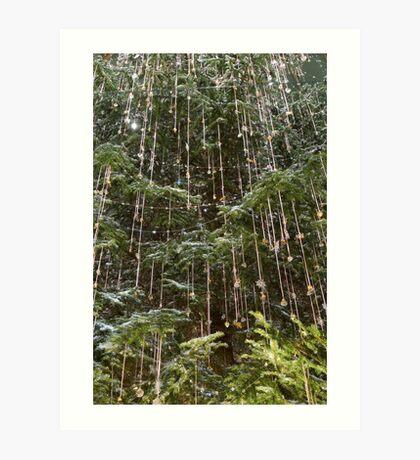 Crystal Rain Art Print