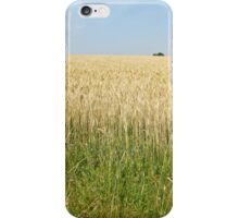 Endless fields of wheat iPhone Case/Skin