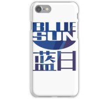 Firefly Serenity Blue Sun Logo iPhone Case/Skin