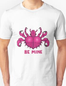 """Be Mine"" Crab Louse Unisex T-Shirt"