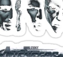 avenger characters Sticker