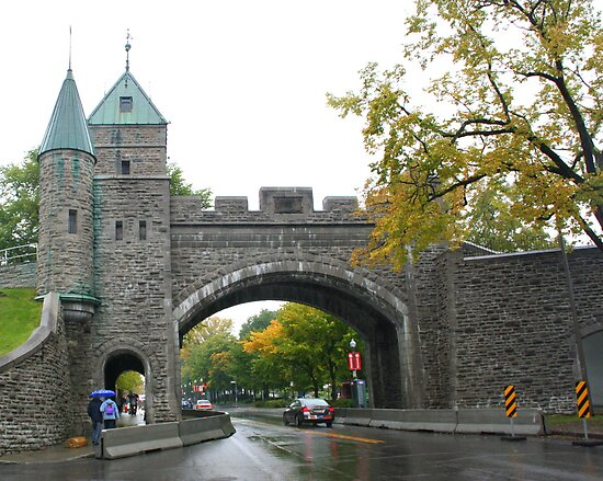Looking through the underpass near the Citadelle by Laurel Talabere