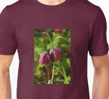 Snake's Head Fritillary (Fritillaria meleagris) Unisex T-Shirt